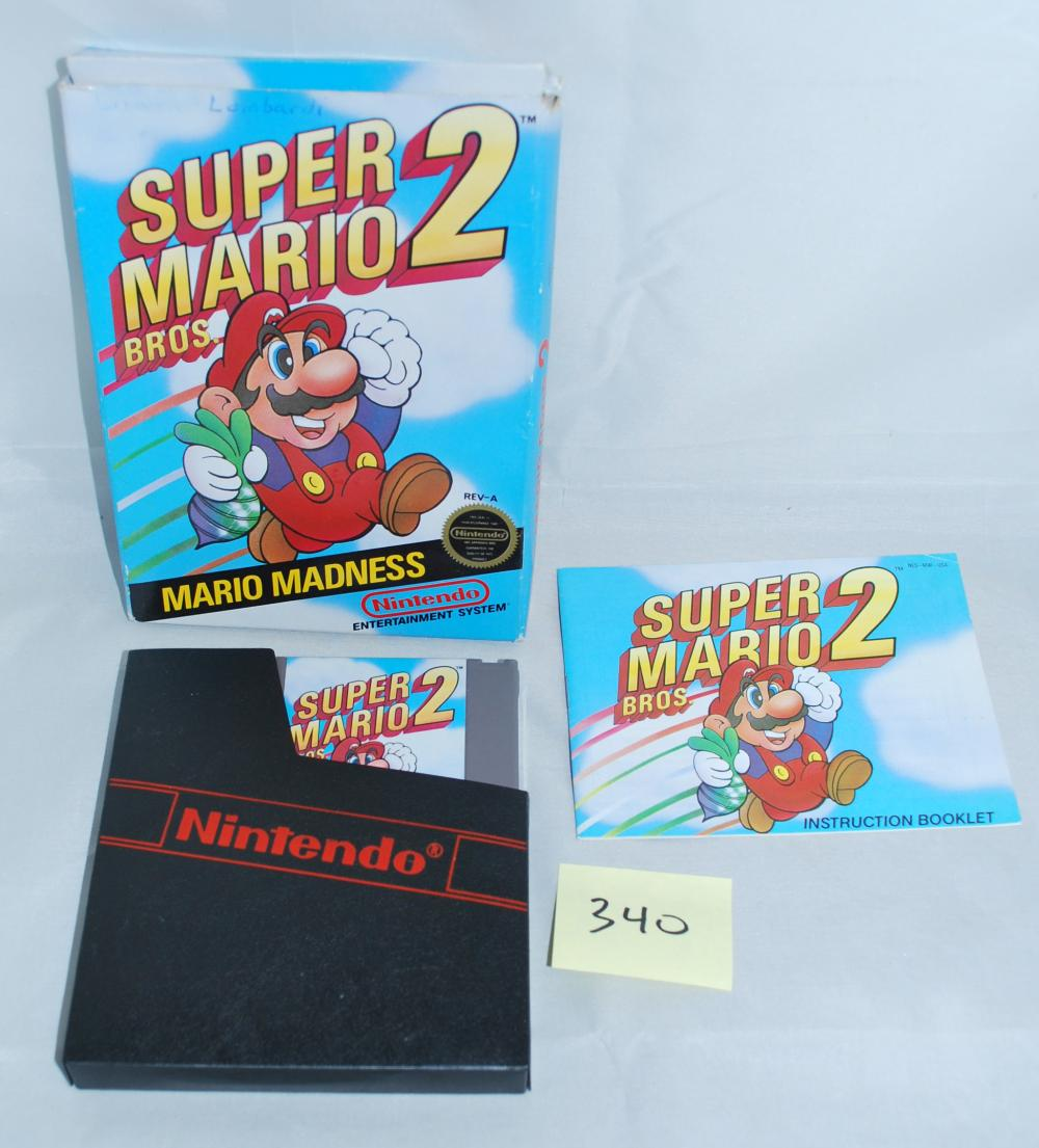 1988 Nintendo Super Mario 2 Video Game