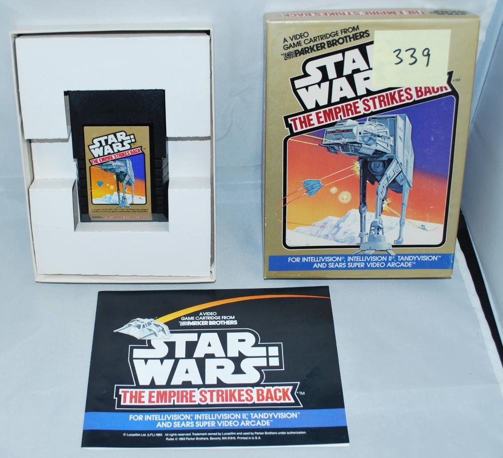 1983 Star Wars Empire Strikes Back Video Game