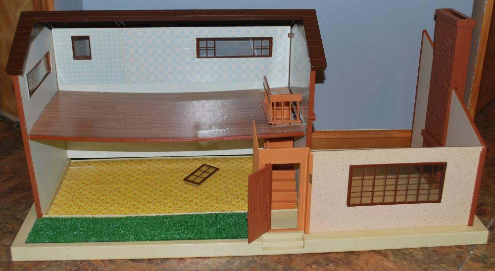 Vintage Extra Large Doll House