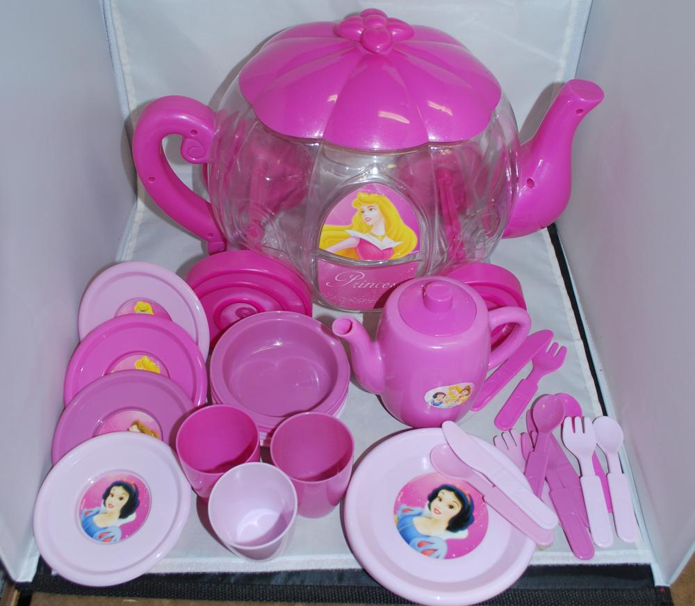 Disney Princess Play Tea Set with Carriage