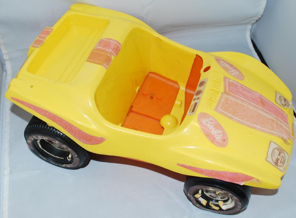 Vintage Barbie Convertible Sports Car