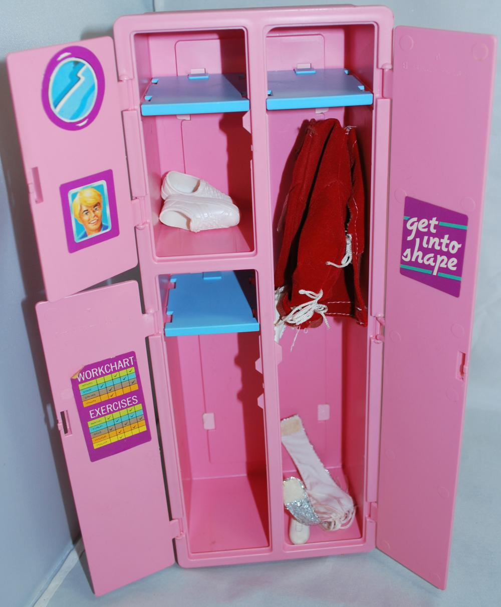 Vintage Barbie Exercise Equipment