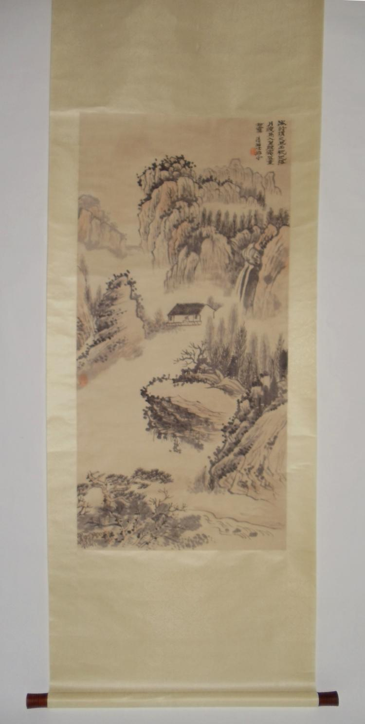 Landscape Attributed to Shi Tao (1642-1707)
