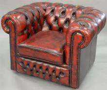 House of Chesterfields easy chair.