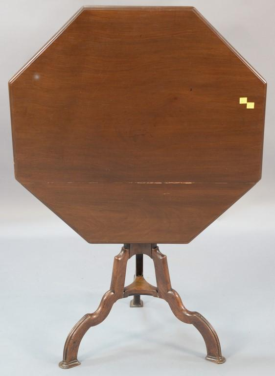 English carved mahogany tilt top tea table 19th century th for Th 37px60b table top stand