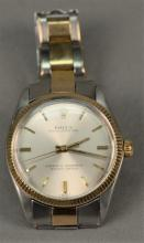 Rolex Oyster Perpetual 9ct stainless steel wristwatch model 1002, sn-1585849.