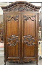 Louis XV style two door cabinet. ht. 89