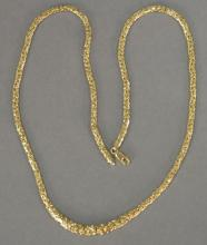 14K gold chain, lg. 20in. 9.1 grams