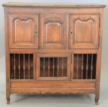 Louis XV style cabinet with four doors. ht. 46in., wd. 44in., dp. 20in.
