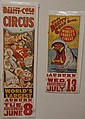 Two Clyde Beatty and Cole Circus posters, 13