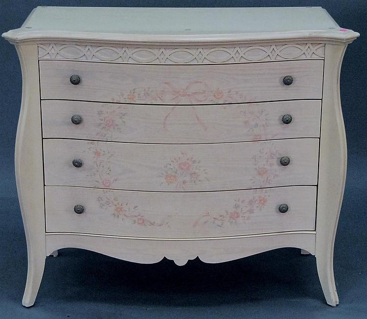 Lexington furniture lynn hollyn serpentine chest and mirror for C furniture new lynn