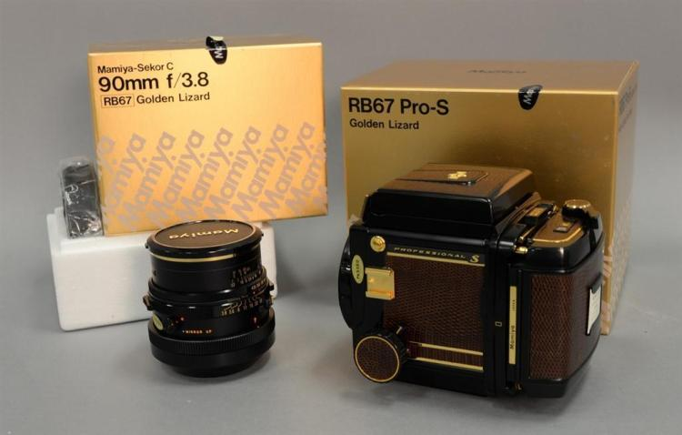Two piece camera lot including Mamiya RB67 Pro-S