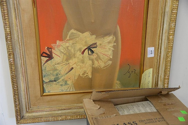 Sold Price: Igor Pantuhoff (1911-1972) oil on canvas