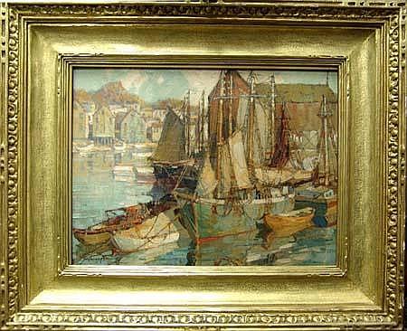 Frederick J. Mulhaupt 1871-1938, Rocport Harbor