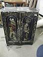 Oriental style two door cabinet.
