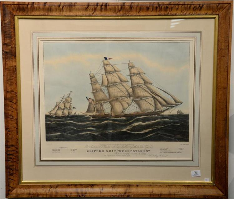 Clipper ship sweepstakes currier gallery