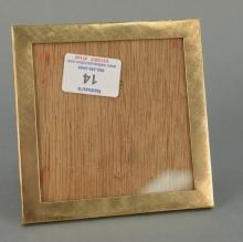 10K gold picture frame. overall size 5