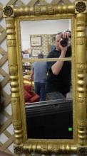 Federal gilt two part mirror, circa 1840. 39