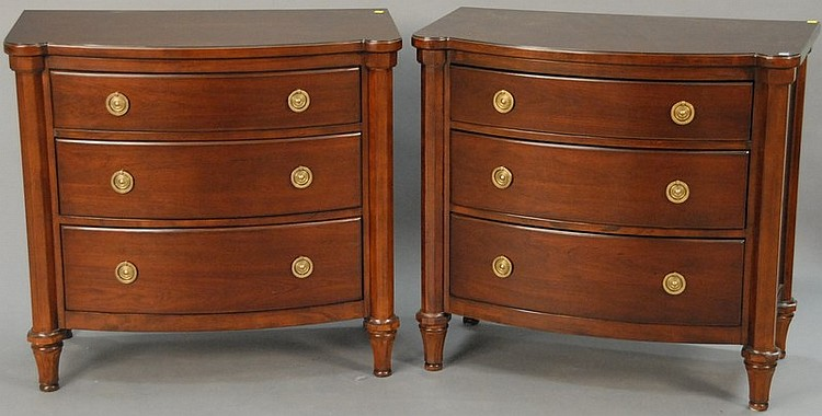 Pair Of Bernhardt Martha Stewart Signature Commodes Surface