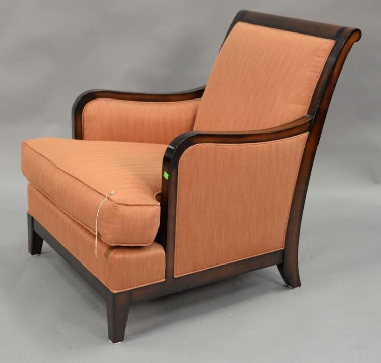Milling Road by Baker upholstered armchair.