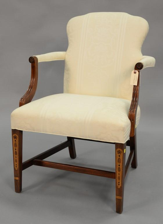 Southwood Federal style armchair with inlay.