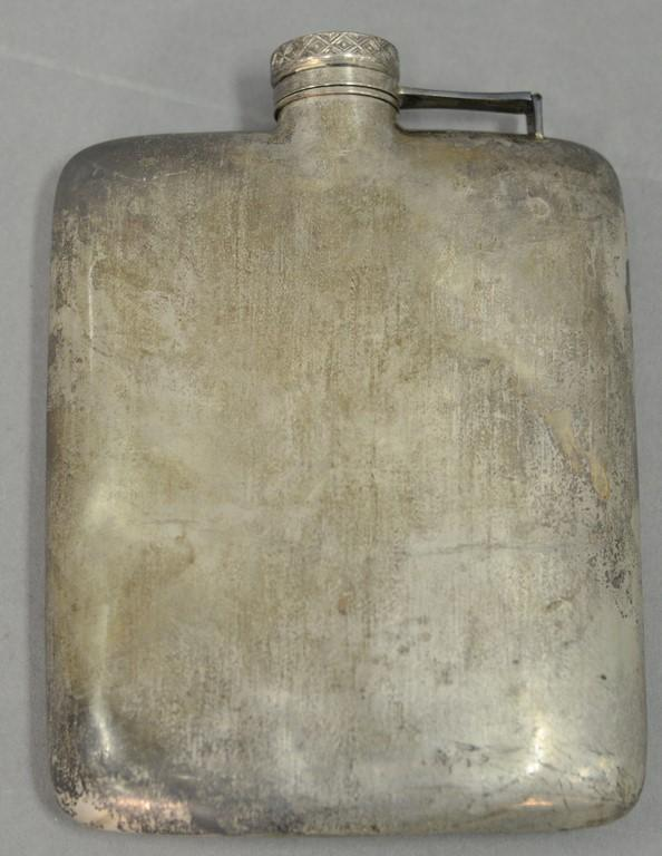Wallace sterling flask, 6.67 t oz.