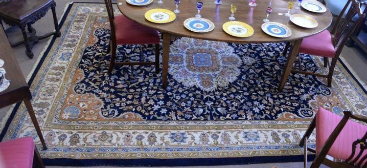 Oriental carpet, 8'8