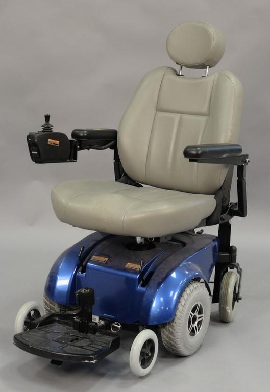 Jet 3 motorized chair.