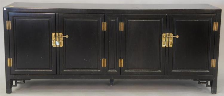Century Furniture Co. Chinese style lacquered credenza.ht. 31in., wd. 76in., dp. 19in.