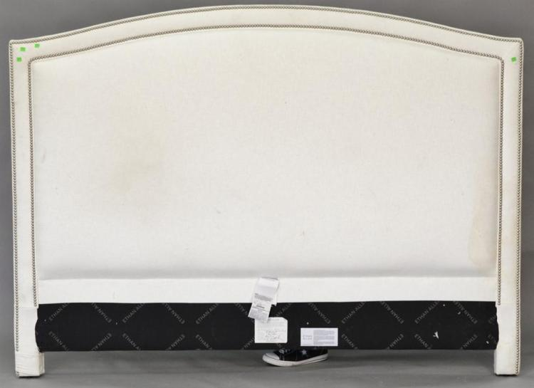 Ethan Allen king size upholstered headboard.