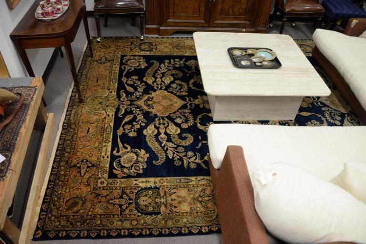 Oriental carpet, 8'6