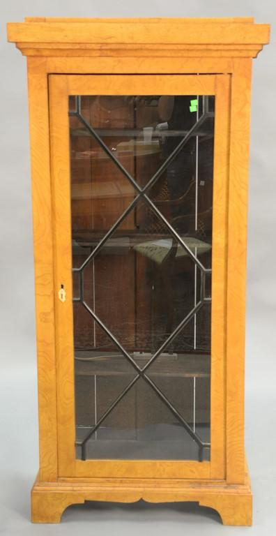 Biedermeyer style bookcase, 19th century.