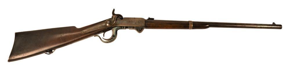 Civil War Burnside Carbine Rifle.54 calibermanufactured by Burnside Rifle Co, Providence RI21 inch round barrelserial number 165...
