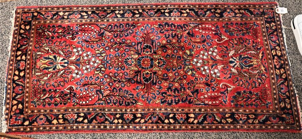 "Sarouk Oriental Rug2' x 4' 2"""