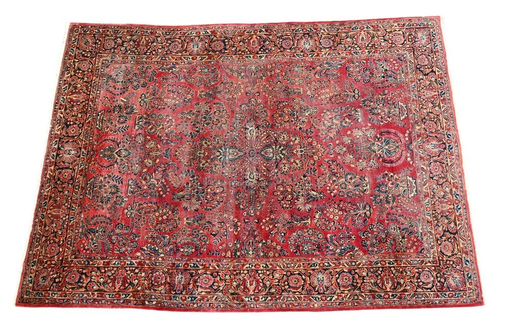 """Sarouk Oriental Carpetwear8' 6"""" x 11' 8"""""""