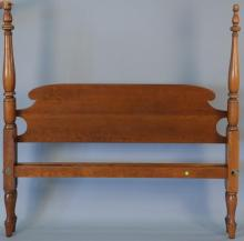 Eldred Wheeler cherry four post queen size bed. ht. 65in.