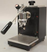 Olympia Express Cremina Espresso Coffee Maker with pull lever, drip pan, and grate tray, made in Switzerland. Provenance: Estate o...