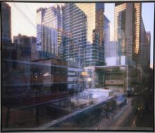 Michael Wesely (b. 1963), c-print photograph in color in steel frame, The Museum of Modern Art MOMA New York City under Construction...