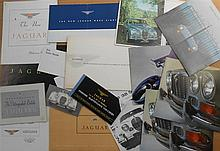 1950'-1960's Jaguar brochures, 33 items