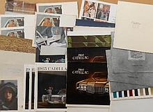 1960's-1970's Cadillac brochures, 82  items