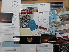 1950's-1960's Mercedes Benz brochures, 40 items