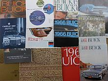 1960's-1970's Buick, Cadillac and Oldsmobile brochures, 75 items