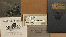 Five catalogs - 1904 & 1906 Olds, two diff 1903 Orient, 1904 Pope Robinson and 1904 Orient folder