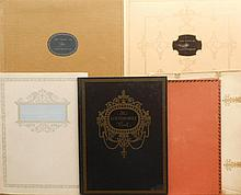 Four different Books of Locomobile - 1914, 1915, 1916, 1917,  two have orig envelopes