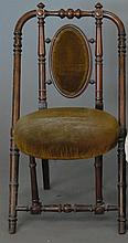 Hunzinger style Victorian side chair.