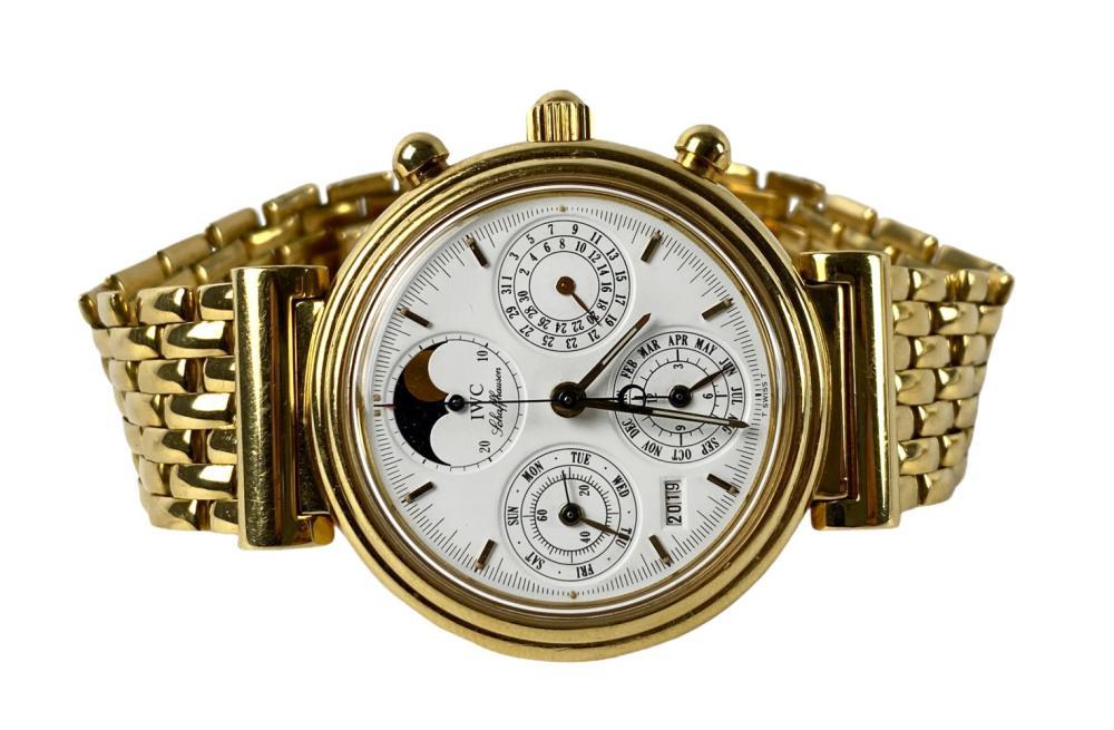 IWC 18K Gold De Vinci Chrono Men's Watch