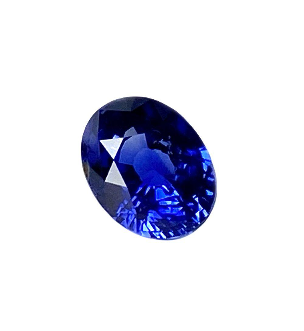 GIA Certified 3.55ct Sri Lanka Blue Sapphire