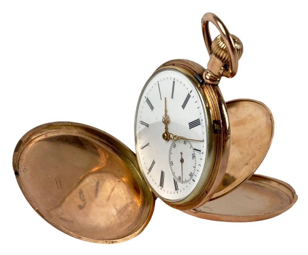 19th C. A. Lange & Sohne 18K Gold Pocket Watch