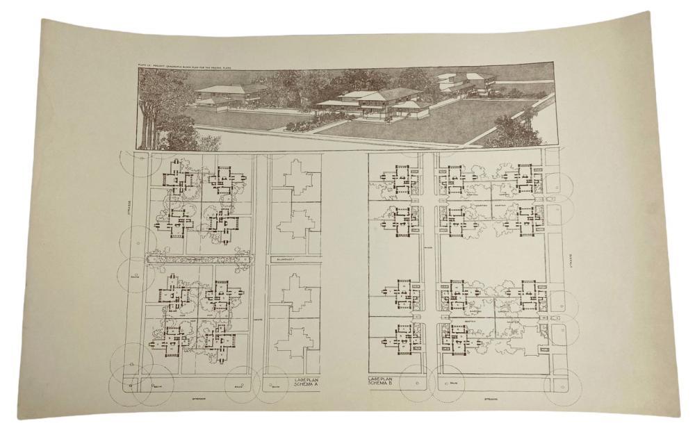 Frank Lloyd Wright Harley Bradley House Lithograph