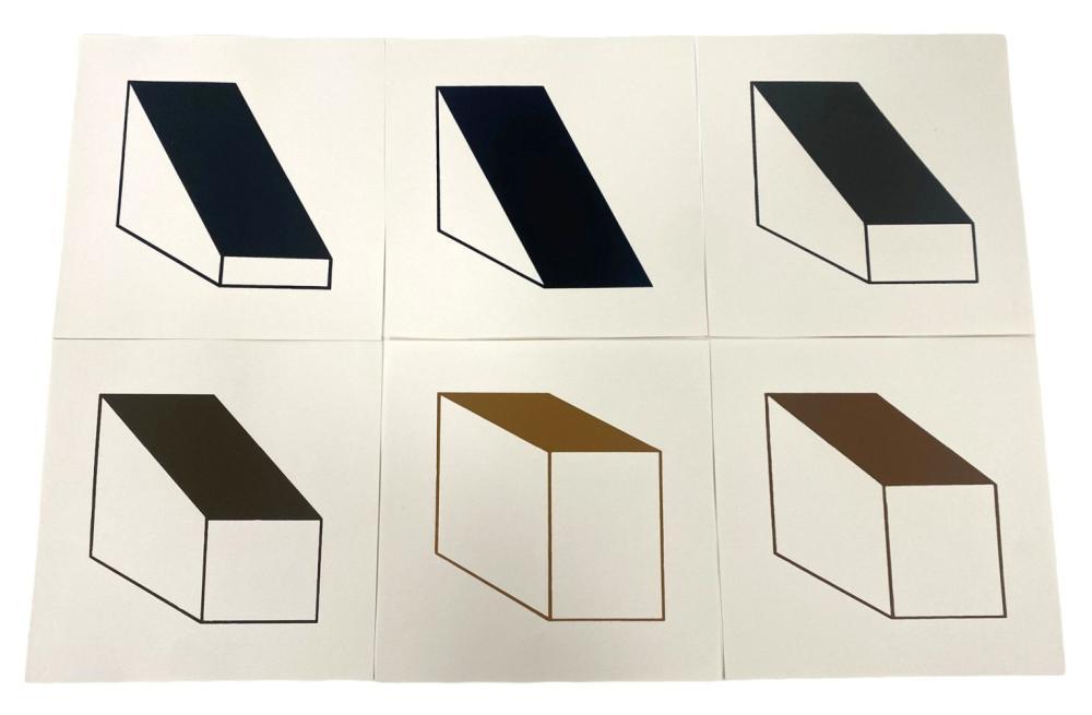 Esteban Castillo Geometric Serigraphs on Paper